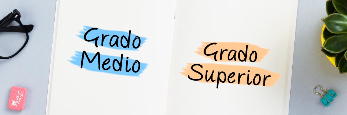 Diferencias Entre Grado Medio Y Grado Superior Svida